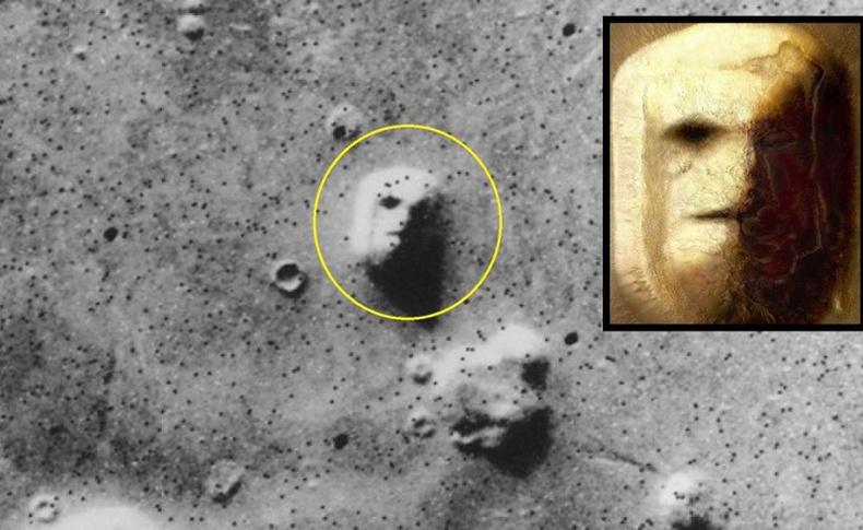 Ангараг гарагаас илрүүлсэн хачирхалтай зүйлс