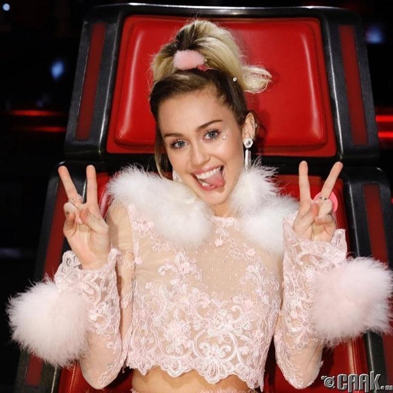 Майли Сайрус (Miley Cyrus): Хүн бүрт энхийг хүсье