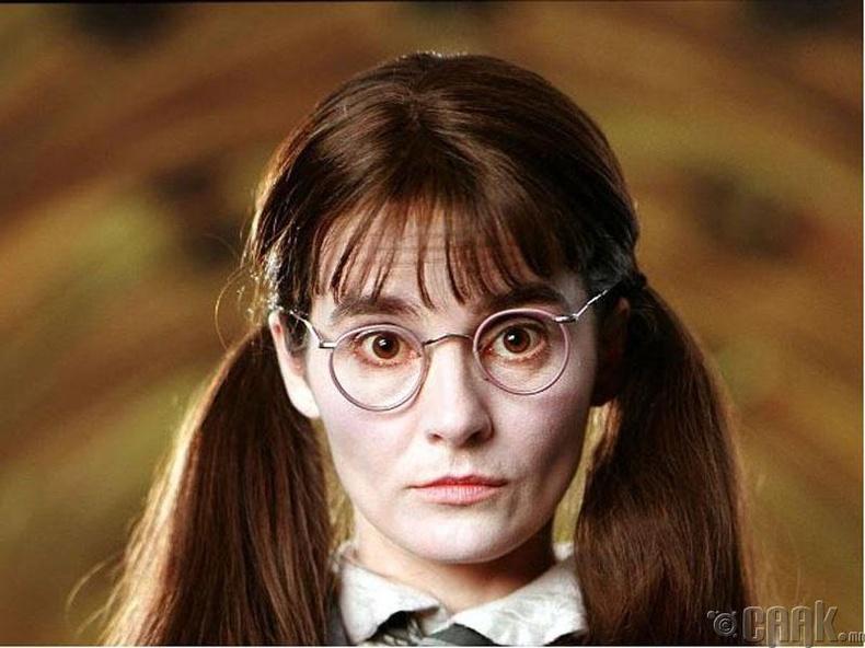 """""""Харри Поттер-Нууц өрөө"""" кинонд 36 настай Ширли Хендерсон 14 настай охины дүрд"""