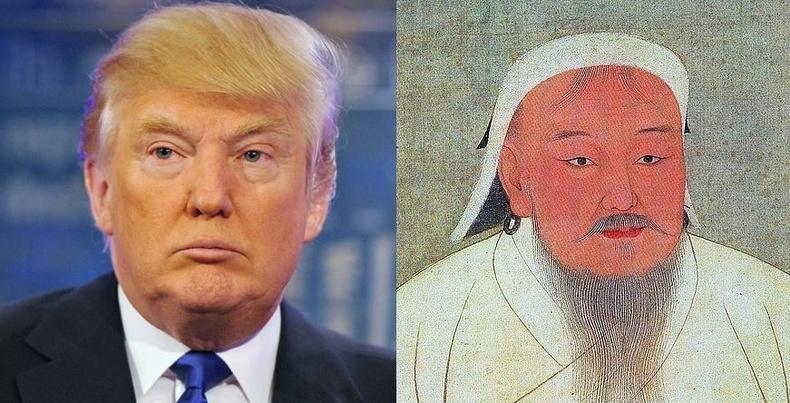 Дональд Трампыг Чингис хаанаас суралцахыг зөвлөжээ