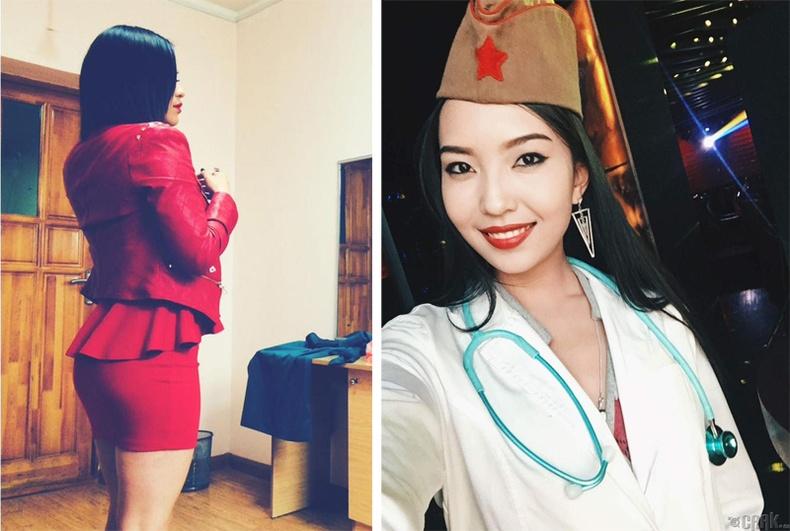 Монголын үзэсгэлэнт охид (90 фото) №148