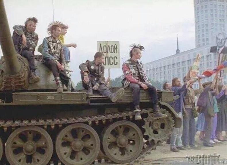 1991 оны 8-р сар, Москва