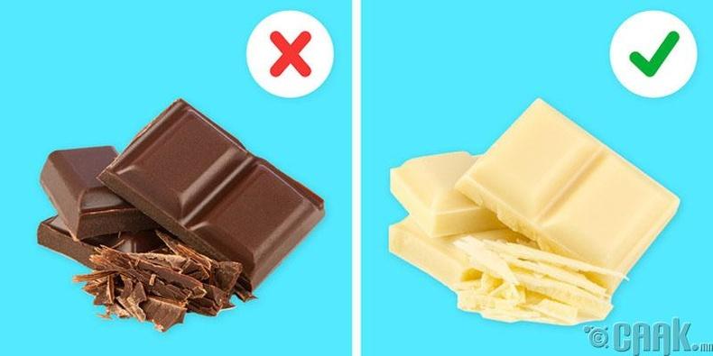 Цэвэр шоколад