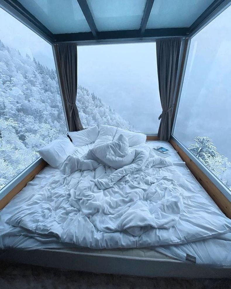 Гүржийн Eco House Merisi зочид буудлын унтлагын өрөө