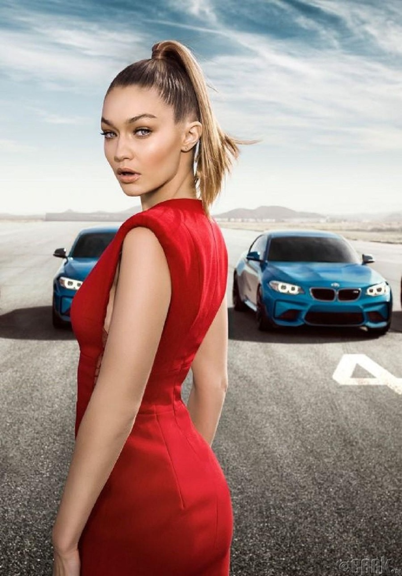 "Жижи Хадид (Gigi Hadid)-  ""BMWM2"""