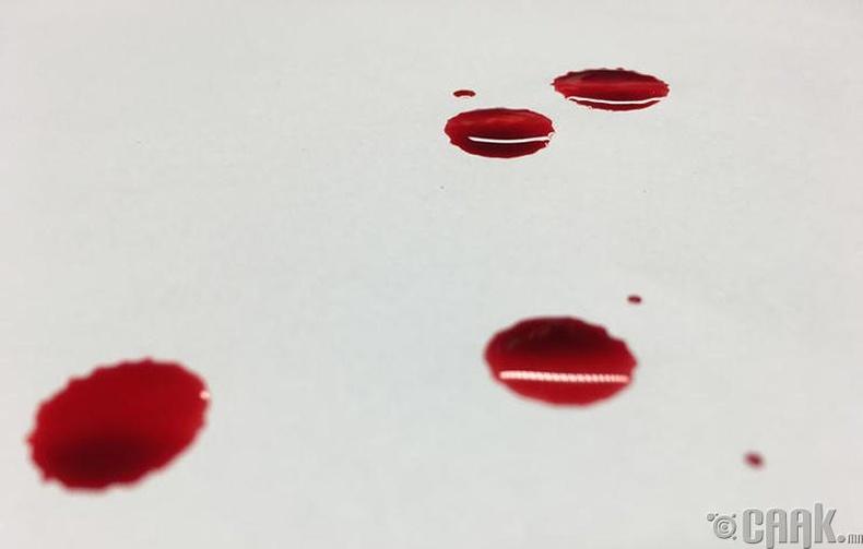 Хүндрэх болон огих үед цус гарах