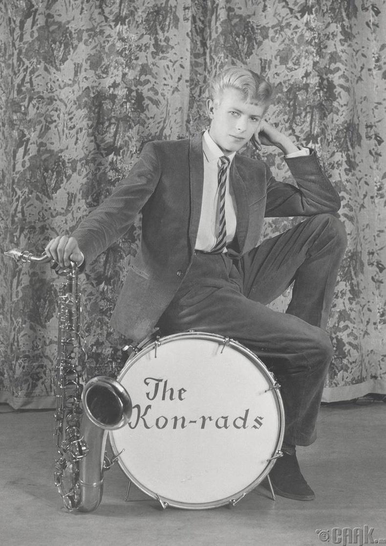 Дэвид Боуи (David Bowie) 16 настайдаа