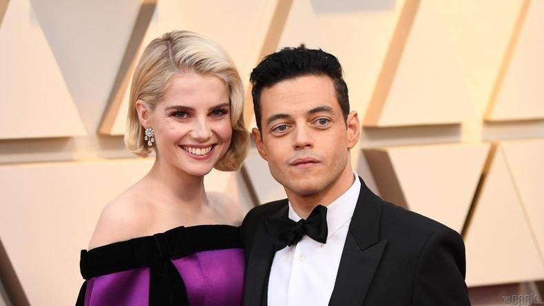 Шилдэг эрэгтэй гол дүрийн шагналд нэр дэвшсэн Рами Малик (Rami Malek) болон жүжигчин Люси Бойтон (Lucy Boynton)