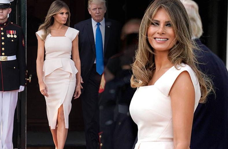 Мелани Трамп албан ёсны айлчлалаар явахдаа юу өмсдөг вэ?