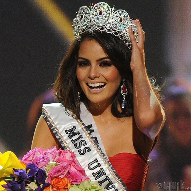 """Miss Universe-2010""-ын ялагч: Мексикийн гоо бүсгүй Жимена Наваррете, 22 настай, 174 см өндөр."
