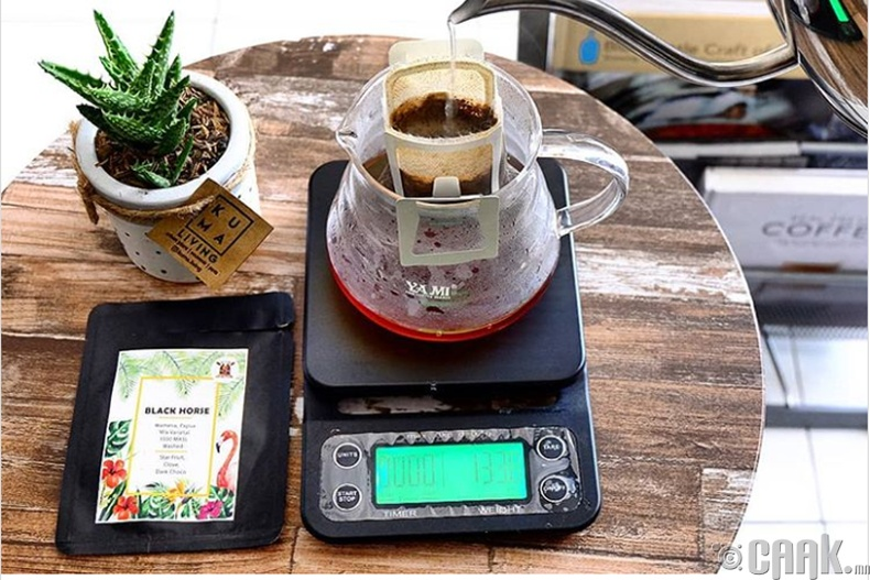 Кофе болон цай хандлагч