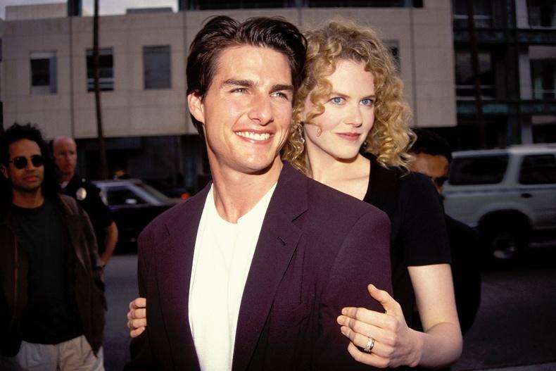 Том Круз болон Николь Кидман, Лос-Анджелес хот, 1992 он.
