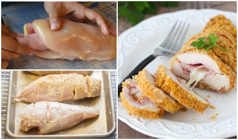 """Францын алдарт """"Cordon Bleu"""" тахианы махан ороомгийг хийж сурцгаая"""