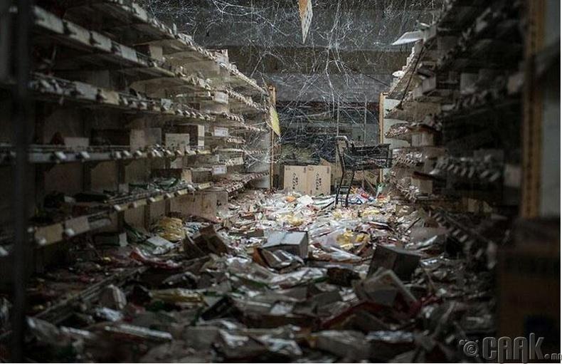 Сүйдсэн дэлгүүр