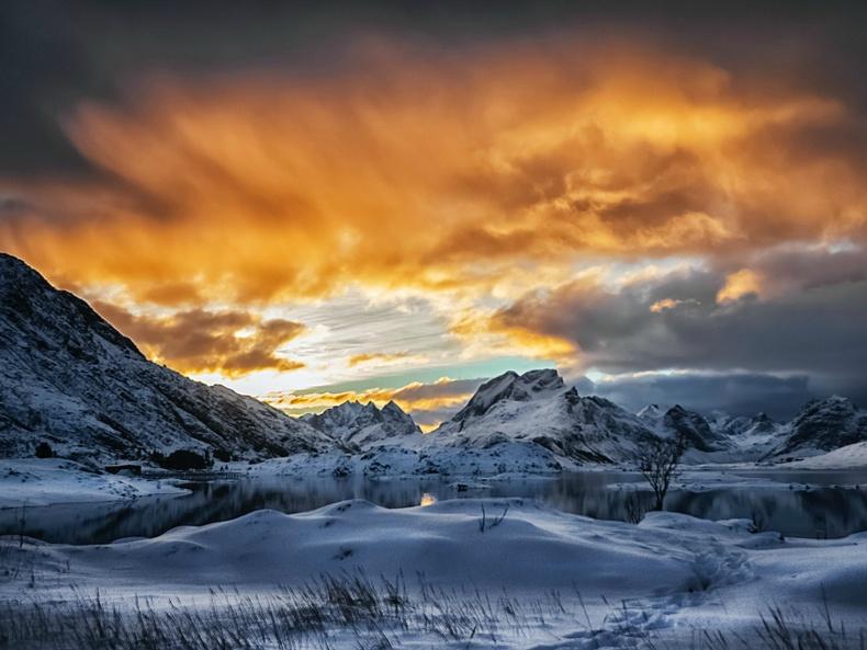 Шөнө дундын нар - Норвеги