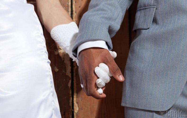 Арьс өнгөөр ялгаварласан гэрлэлт
