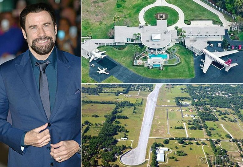 Жон Траволта (Jon Travolta) - Флорида, 12 сая ам.доллар