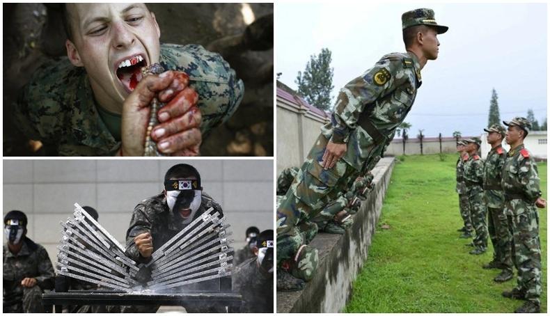 Орон орны цэргийн хамгийн хүнд сургуулилтууд
