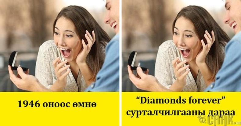Гэрлэх саналыг заавал алмазан шигтгээтэй бөгжтэй тавих ёстой