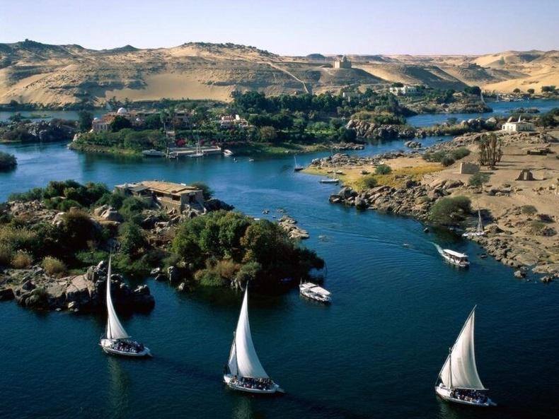 Нил — дэлхийн хамгийн урт гол (Африк)