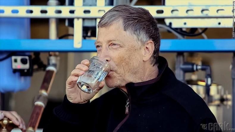 Билл Гейтс - Алмазтай ус
