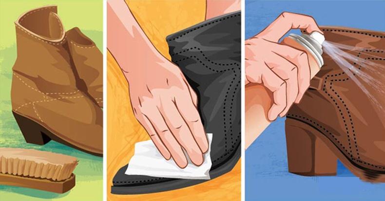 Бороо, цас, шавартай үед гутлаа хэрхэн цэвэрхэн байлгах вэ?