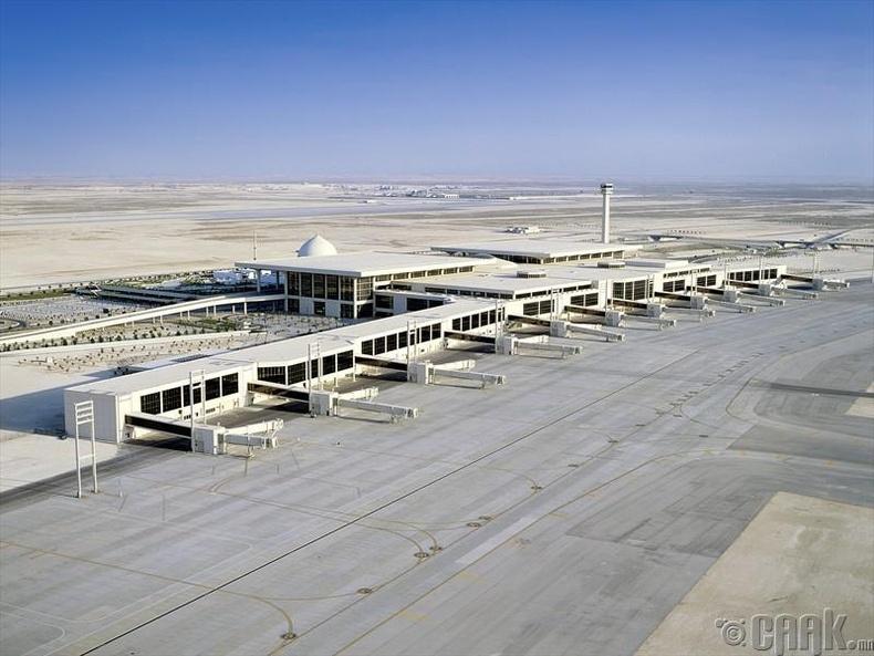 """""""Фахд"""" олон улсын нисэх онгоцны буудал, Саудын Араб"""