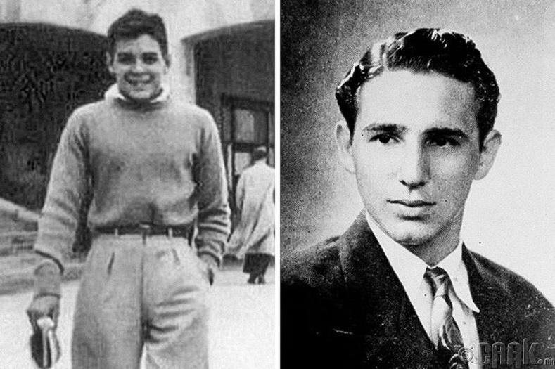 Хувьсгалч Эрнестэ Че Гуавра(Ernesto Che Guevara), Фидел Кастро(Fidel Castro) нар