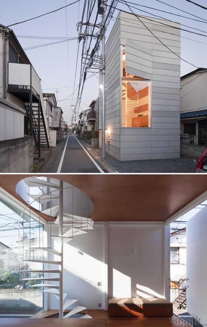 Токиогийн жижигхэн байшин