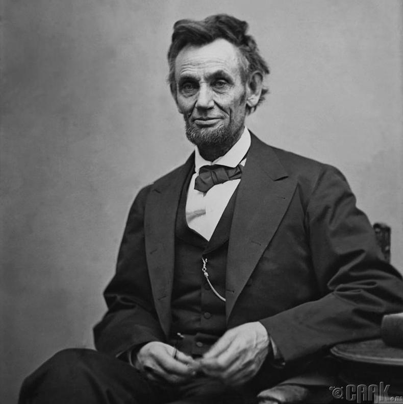 Авраам Линкольн архи худалдаалах эрхтэй байсан