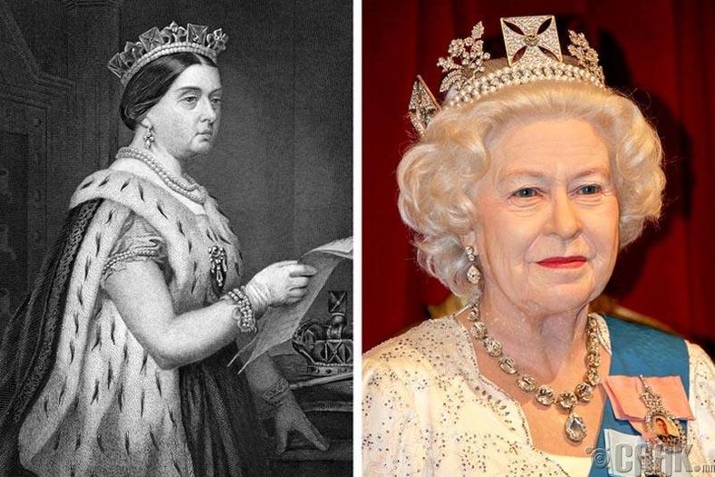 Виктория болон II Элизабет хатан хаан