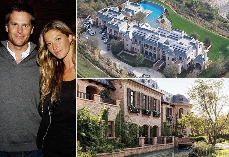 Том Брэди болон Жисэл Бундхен (Tom Brady, Giselle Bundchen) - Калифорни, 20 сая ам.доллар
