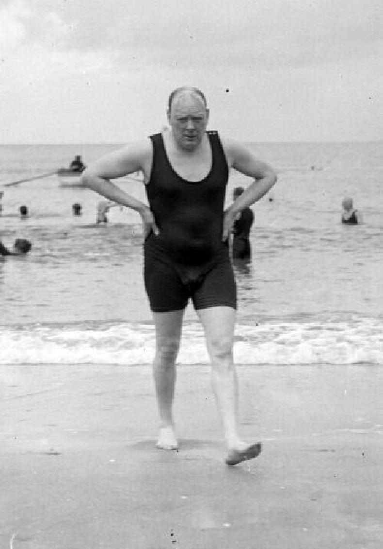 Уинстон Черчилл далайн эрэгт