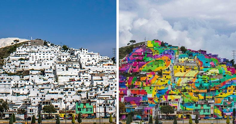 Олон нийтийн хүчээр өнгө төрхөө бүрэн өөрчилж чадсан Мексик хот