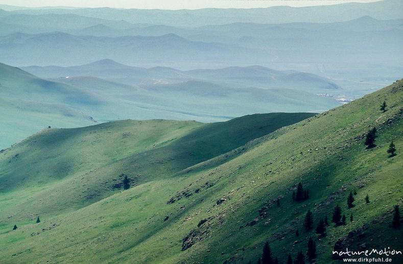Улаанбаатар орчмын уулс