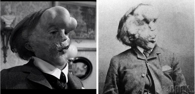 "Жон Харт - ""The Elephant Man"" кинонд ""хүн заан"" Жозеф Меррикийн дүрд"