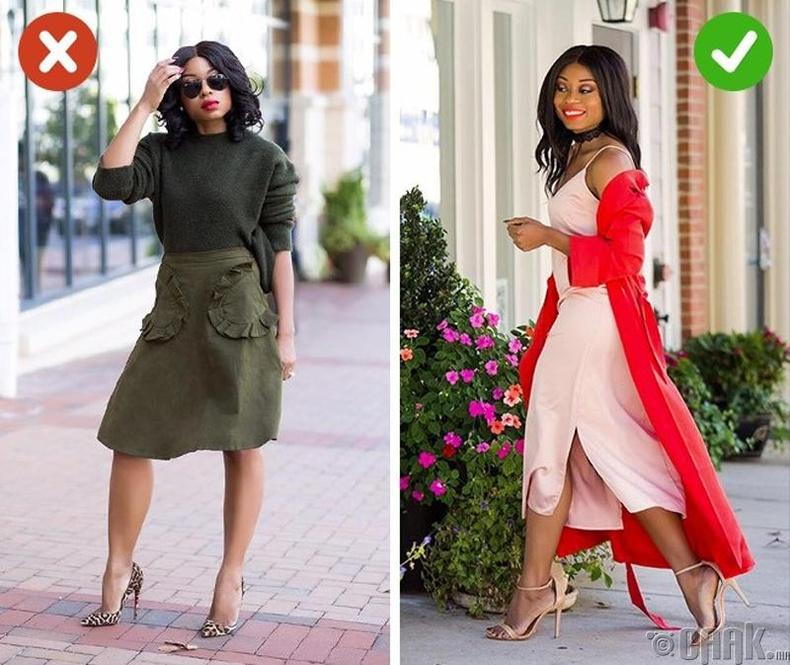 Шороон өнгөтэй буюу хар ногоон хувцаснаас татгалз