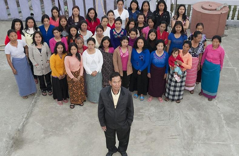 39 эхнэртэй Энэтхэг эр
