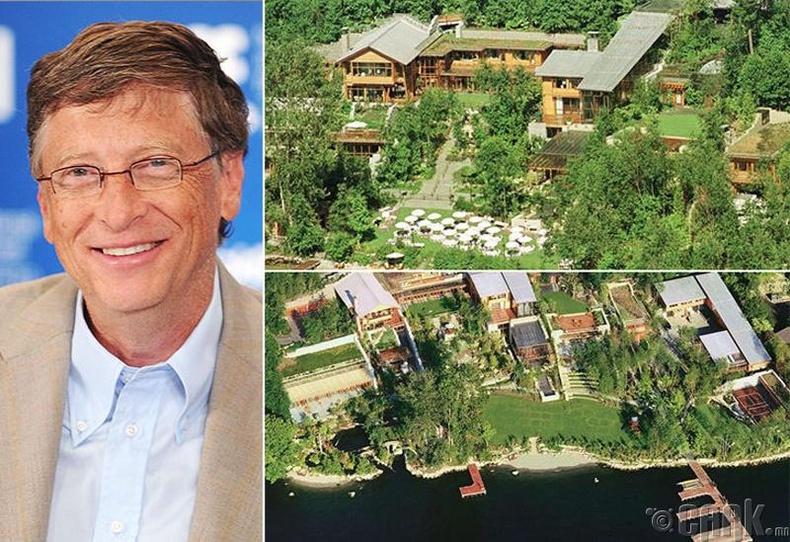 Билл Гэйтс (Bill Gates) - Вашингтон муж, 147.5 сая ам.доллар