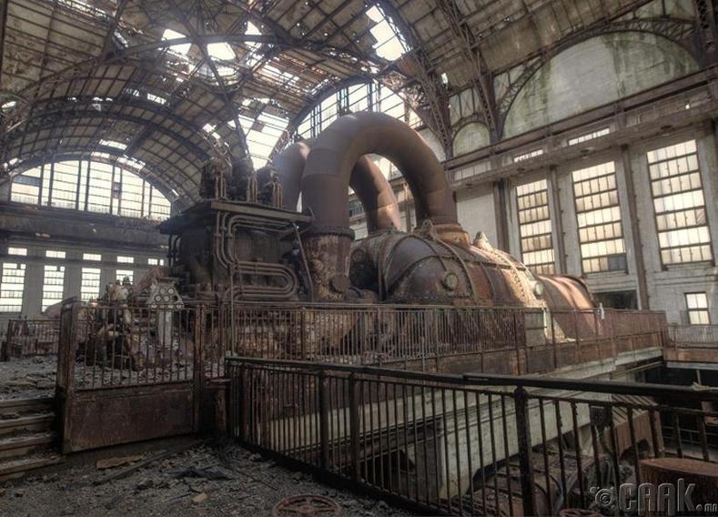 Ричмонд дахь хуучин цахилгаан станц - АНУ