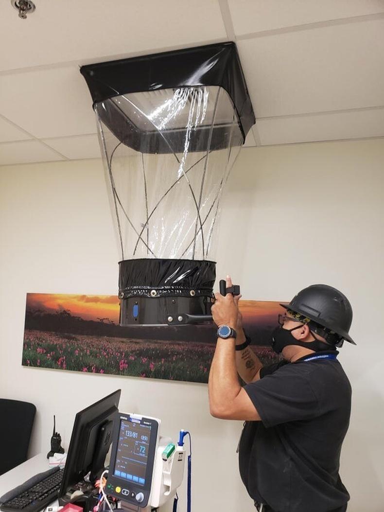 Өрөөн дэх агаарын солилцооны хурдыг хэмжих төхөөрөмж