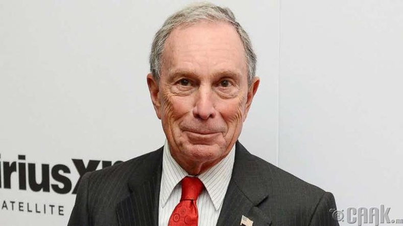 Майкл Блүүмберг (Michael Bloomberg) - 47.5 тэрбум доллар