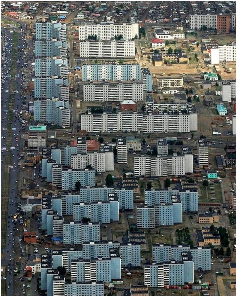 4-р хорооллыг дээрээс харвал - Улаанбаатар, 2004