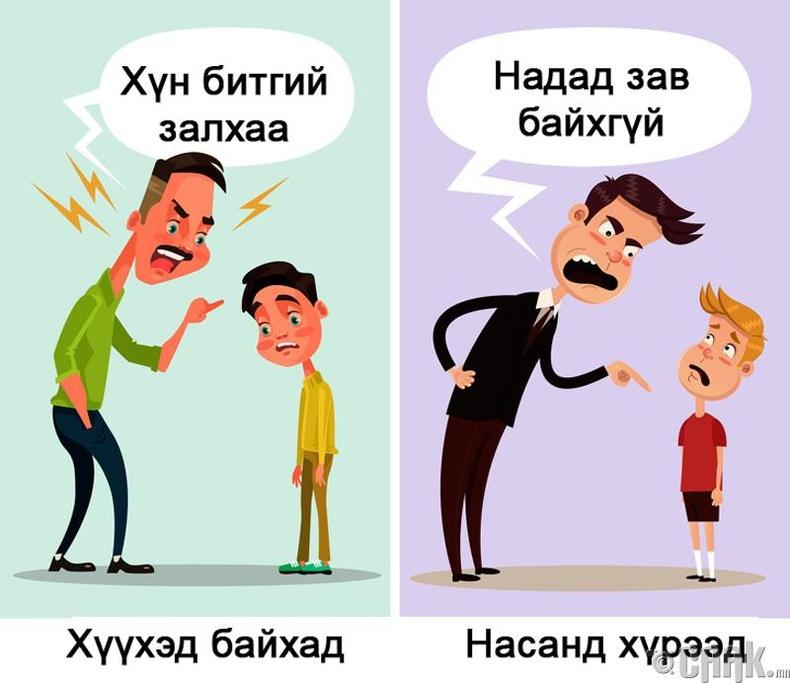 Эцгийн анхаарлыг орхигдуулах