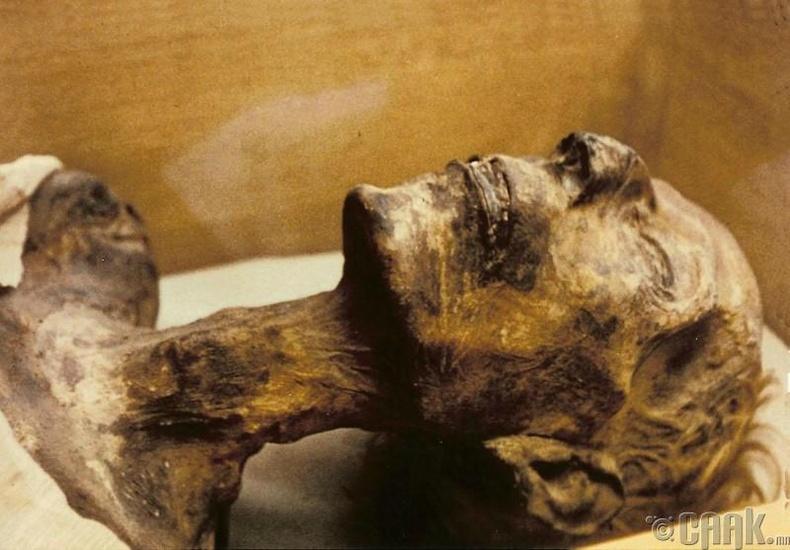 Египетийн фараон — Агуу Рамзесын мумми