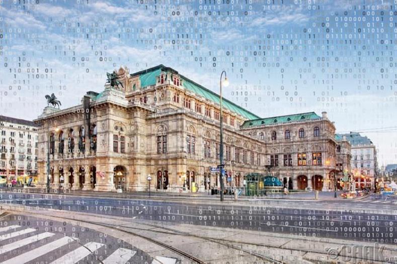 """Вена хотын """"Wiener Staatsoper"""" дуурийн театр"""