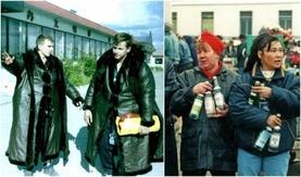 90-ээд оны Оросын ганзагын наймаачдын амьдрал (Түүхэн зургууд)
