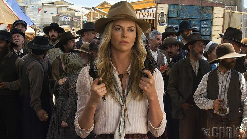 "Шарлиз Терон (Charlize Theron) - ""A Million Ways To Die In The West"""