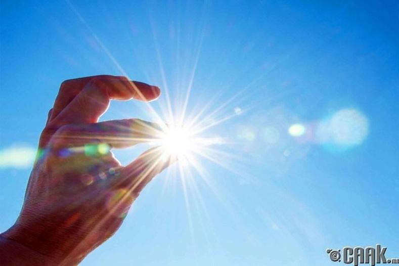 Нарны гэрэл