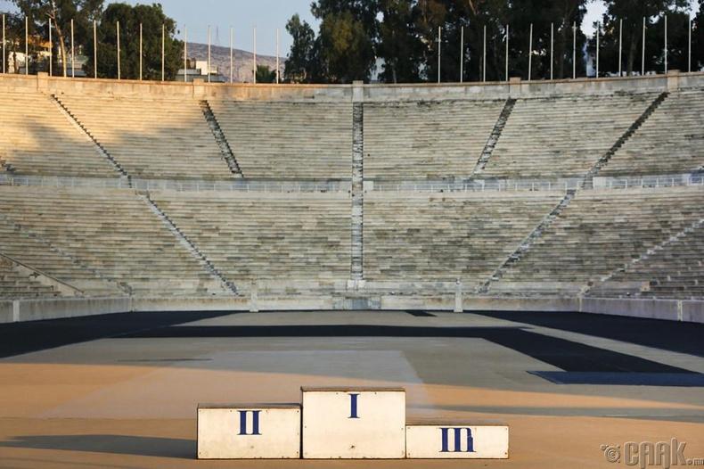 Афин, Грек - 1896 оны зуны олимп болсон газар